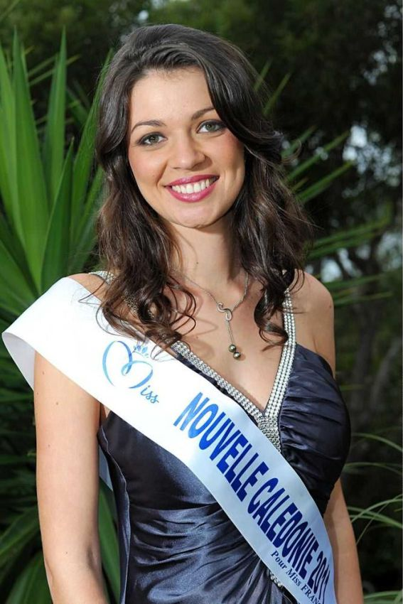 Miss Nouvelle Caledonie-Oceane Bichot