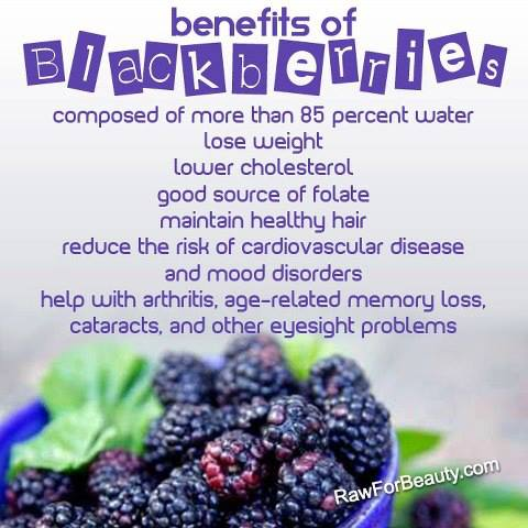 10 Health Benefits of Blackberries