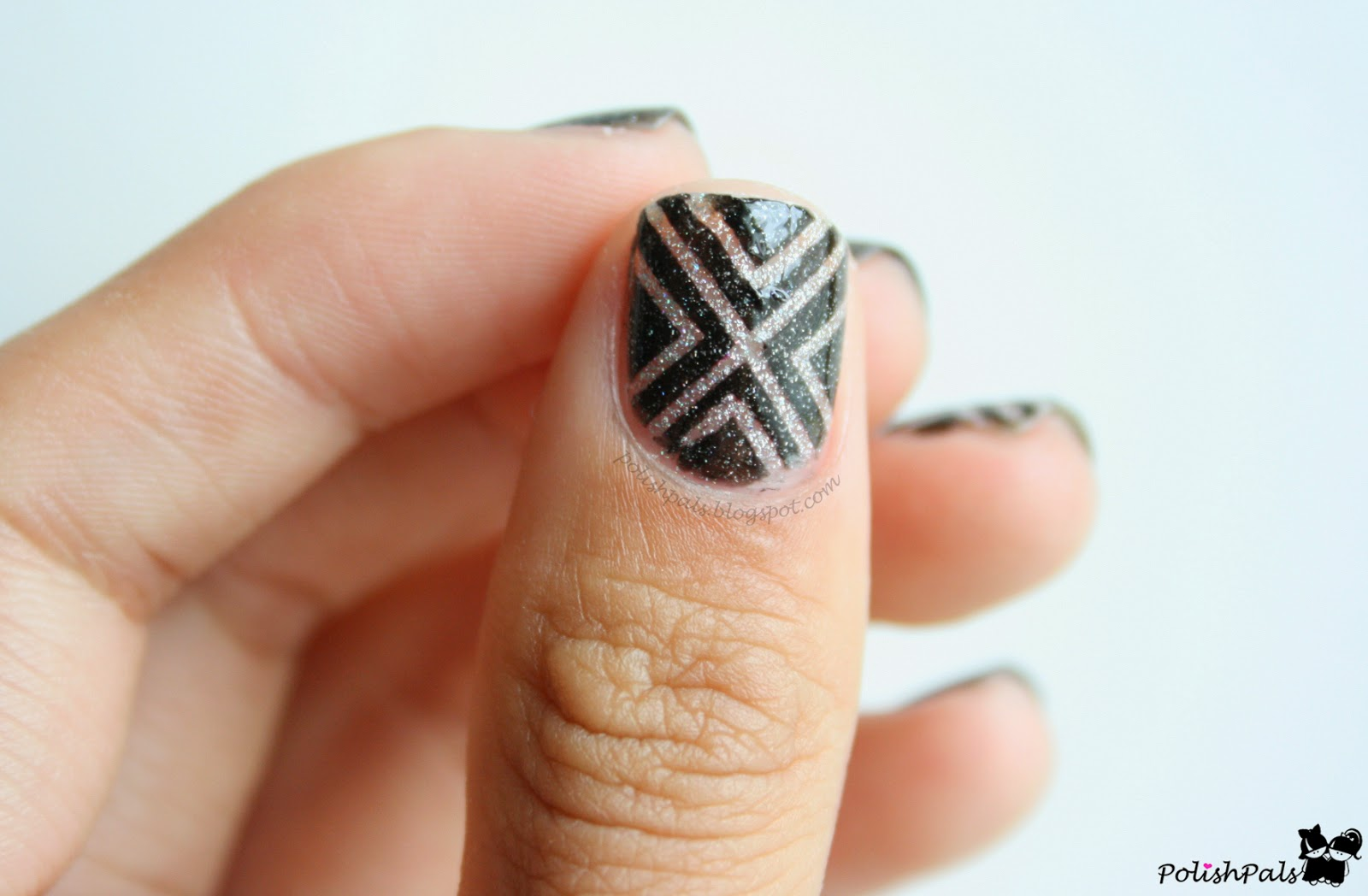 Striping Tape Mani Tutorial