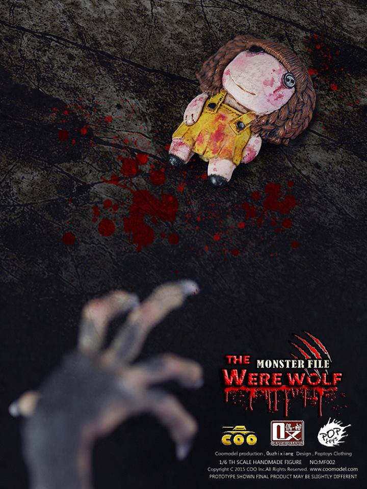 COOMODEL X OUZHIXIANG - Monster File Series - The Were Wolf E6