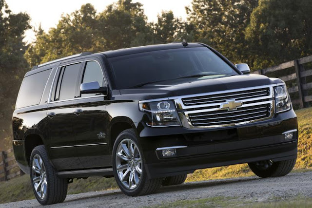 All New Chevrolet Suburban 2015