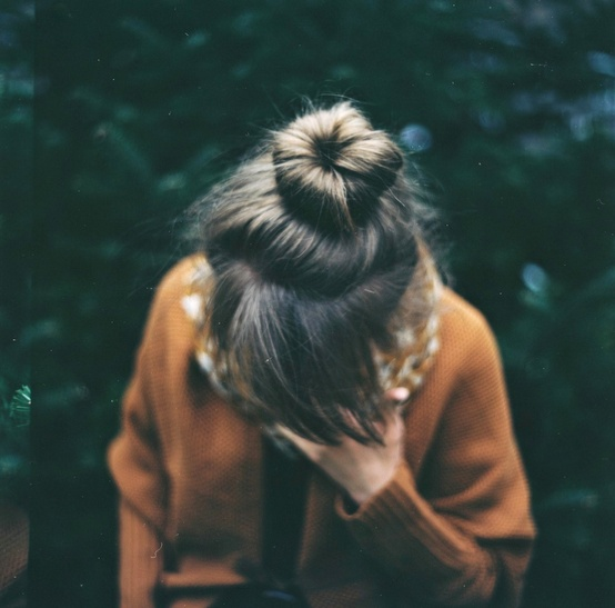 bangs, fringe, hair, hairstyles, hair inspiration, top knot, bun, bangs with bun, bangs with top knot