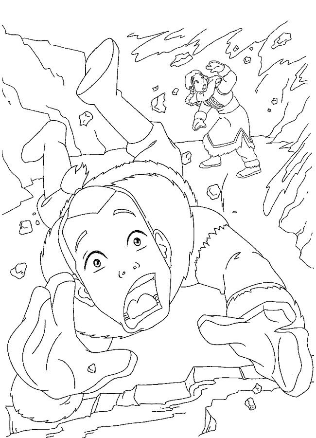 Avatar Coloring Pages Learn To