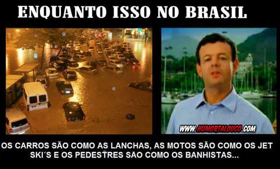 Enquanto isso no Brasil...