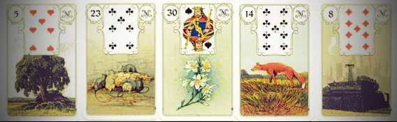 Coffin Ring Lenormand