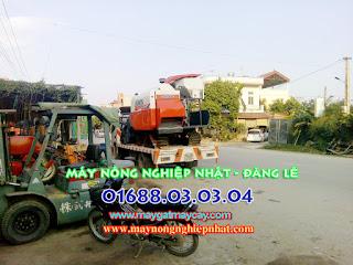 Bán máy gặt liên hợp kubota dc70 cũ thái lan đã qua sử dụng ở Ninh Bình