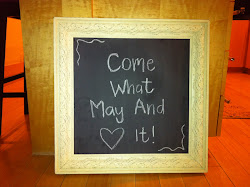 Ivory 20x20 Magnetic Chalk Board **SOLD**