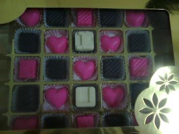 Chocolate hantaran/hadiah