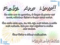 Cartão de Feliz Ano Novo 2012: Modelos Grátis para imprimir - postar facebook