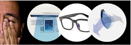Τα γυαλιά ηλίου Blue Blockers προστατεύονται από τις ακτίνες του μπλε φωτός που εκπέμπονται από όλε