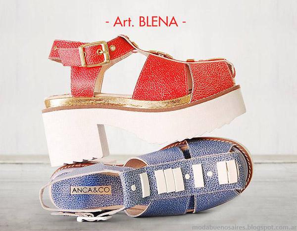 Sandalias de moda 2015 AncaCo.