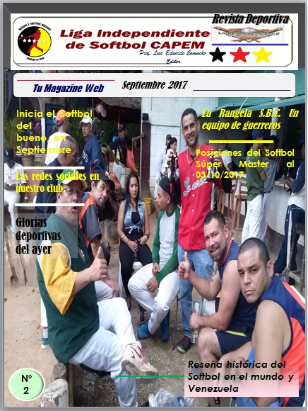 Magazine Softbol CAPEM