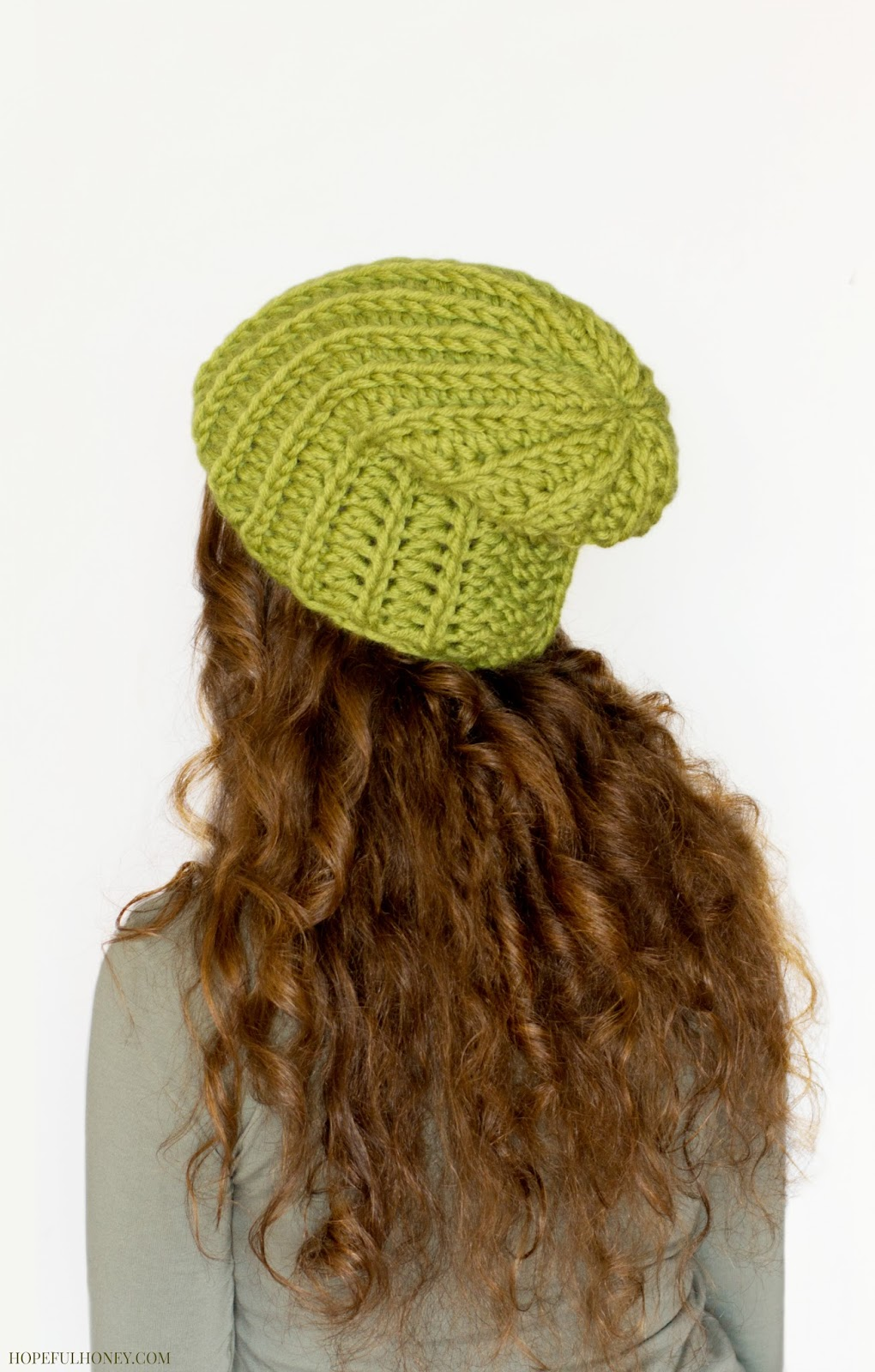 Crochet Pattern To Make A Beanie : Hopeful Honey Craft, Crochet, Create: Chunky Willow Tree ...