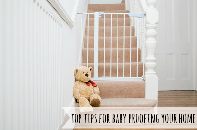 Top Tips For Baby Proofing Your Home