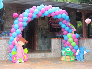 DECORACION MONSTER INC - UNIVERSITY