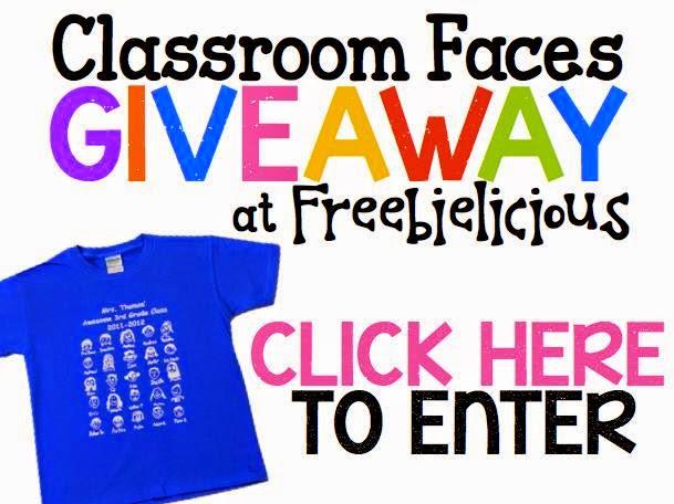 http://freebie-licious.blogspot.com/2014/10/classroom-faces-custom-t-shirt-giveaway.html