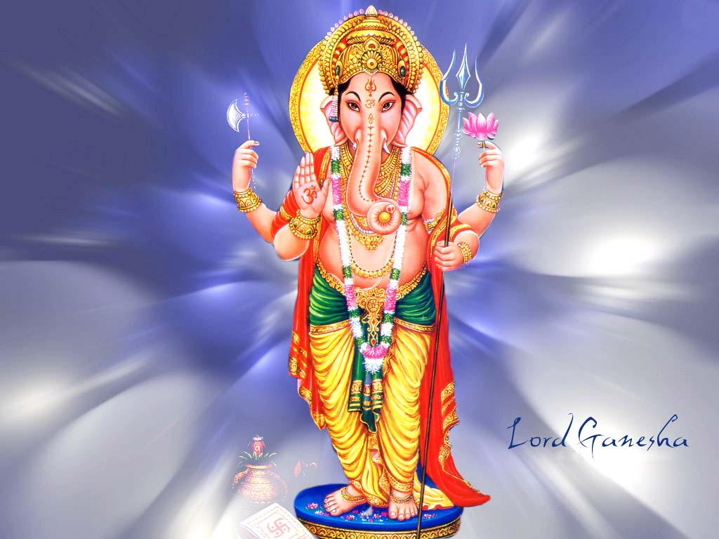 Lord Ganesha Picture Hindu God Wallpapers Free Download