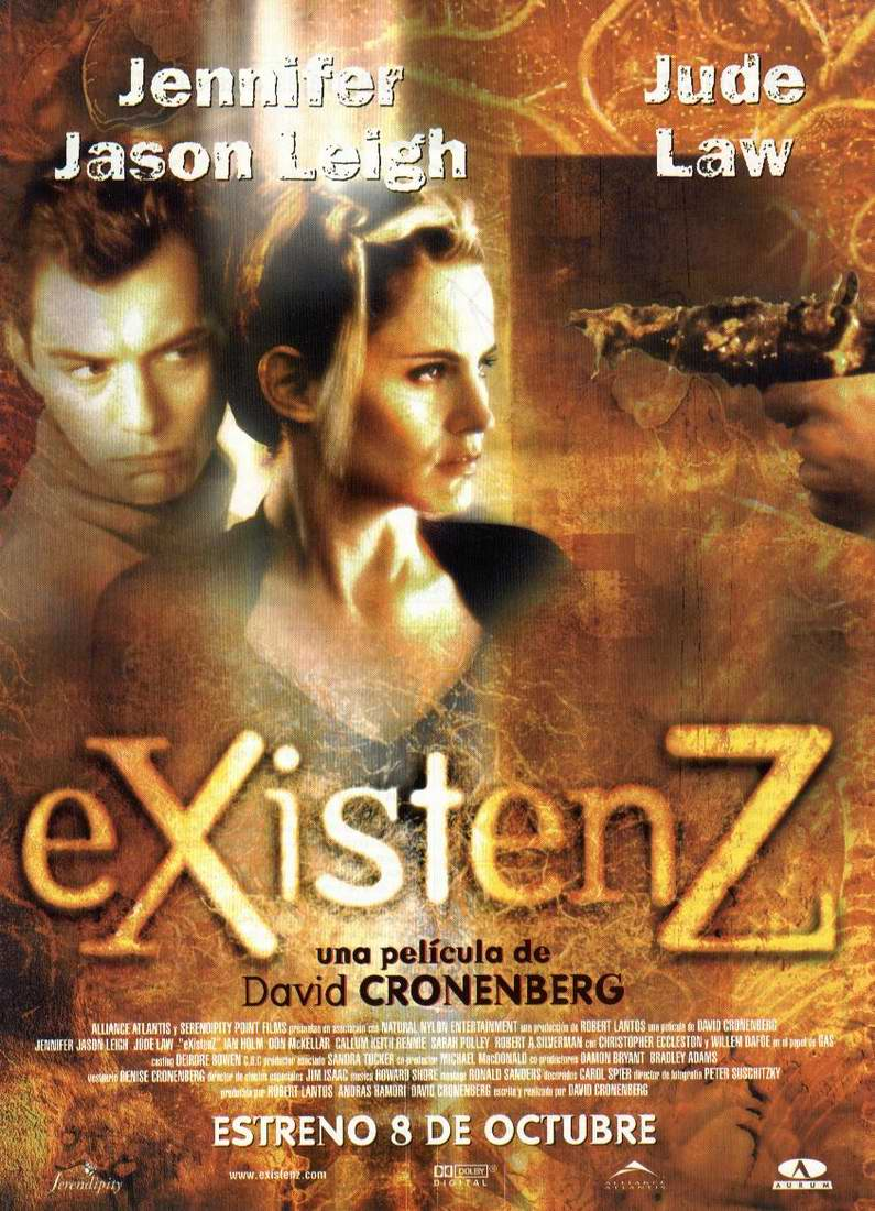 an analysis of the movie existenz by david corenberg With existenz cronenberg has a thematic skeleton key, and he sets off in the direction of opening every door ever the film's entendres are exponential the film's entendres are exponential its layers shift and peel back, revealing more layers, and those layers are made of layers.