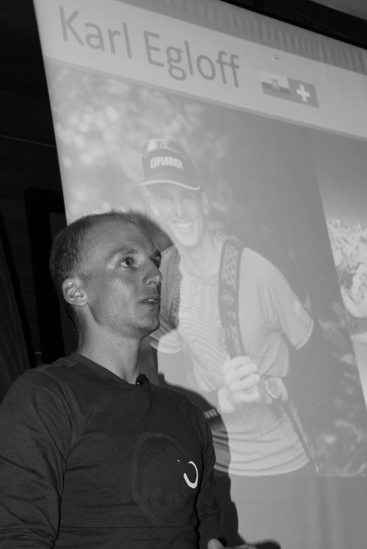 Karl Egloff, durante su conferencia en Ponferrada. / JUAN J. LÓPEZ-TRAILCYL.COM