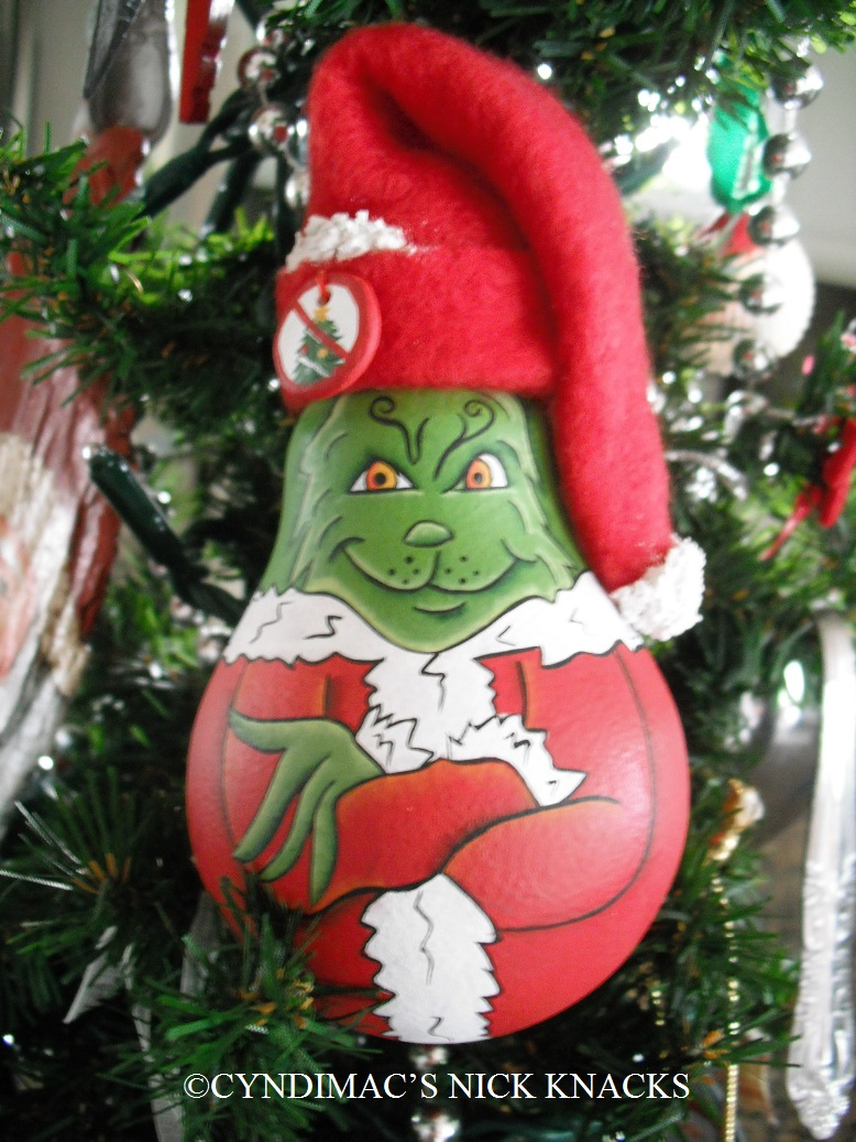 Grinch Christmas Tree I envision a grinch tree in my