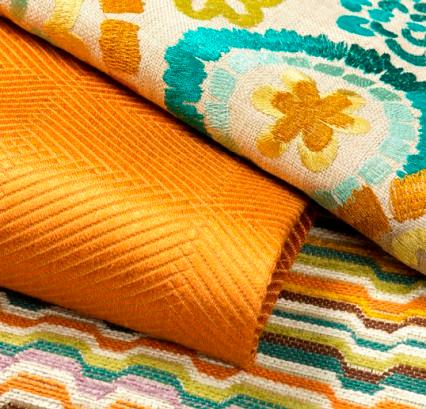 woven bright modern fabrics