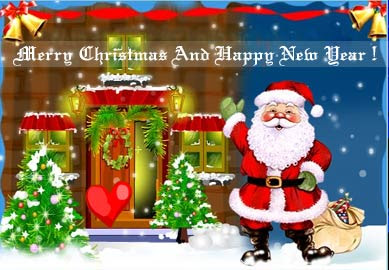Christmas Santa Claus Wallpaper
