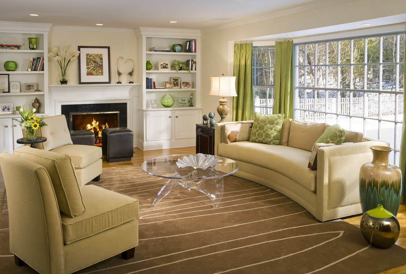 Eye For Design Decorating With Curved Sofas