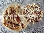 Prajitura cu ness preparare reteta crema - adaugam nuca maruntita