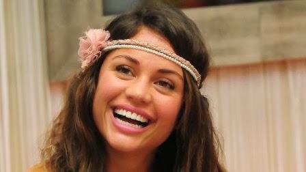 A atriz Maria Melilo