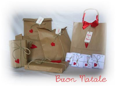 Pacchetti regalo di Natale