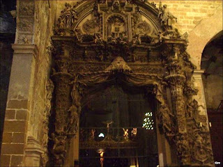 Capilla del Santo Cristo de los Milagros en la Catedral de Barbastro (Somontano, Huesca, Aragón, España)
