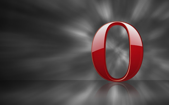 Opera Browser Red Logo