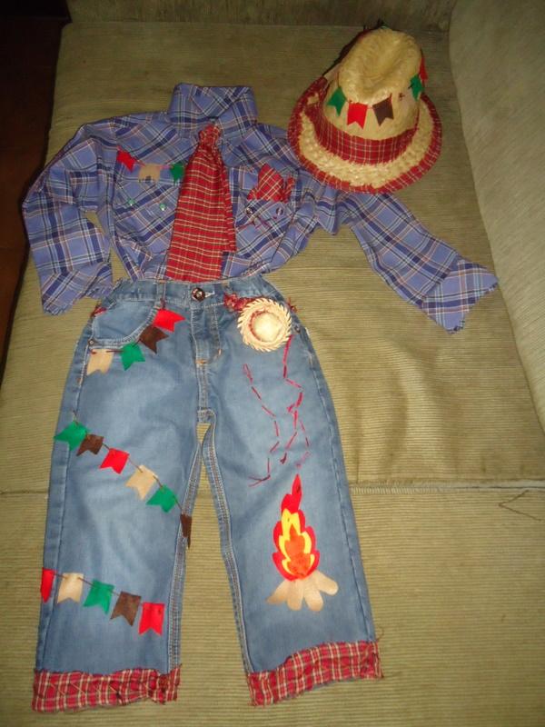 Fashion acess 243 rios roupas de meninos customizadas para festa junina
