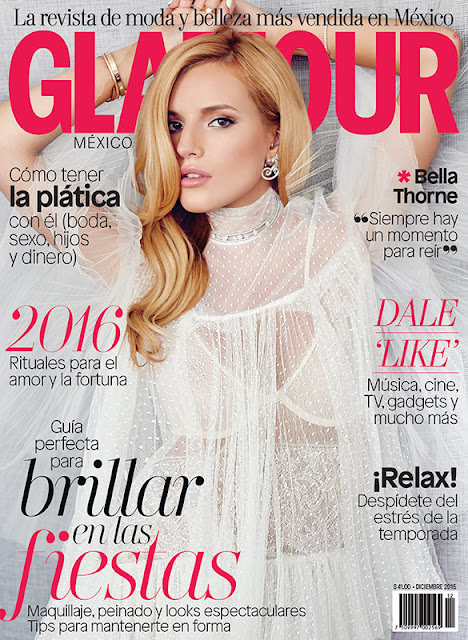 Actress, Singer, @ Bella Thorne - Glamour Mexico