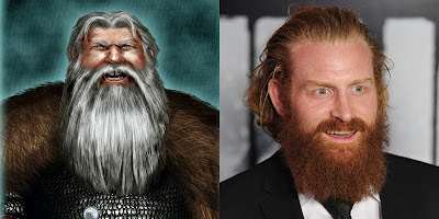 tormund giantsbane matagigantes kristofer hivju actor norwegian casting season 3 game of thrones juego de tronos hbo  canción de hielo y fuego a song of ice and fire