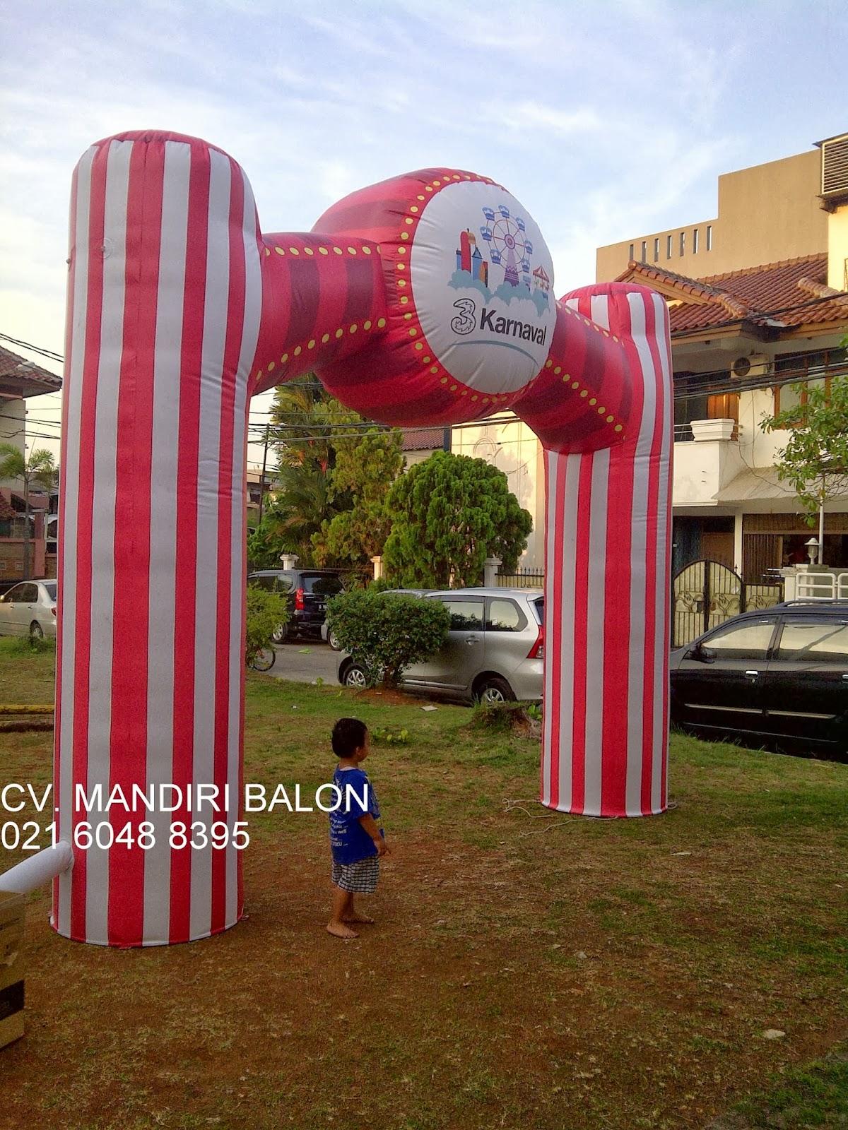 Balon Gapura karnaval 3