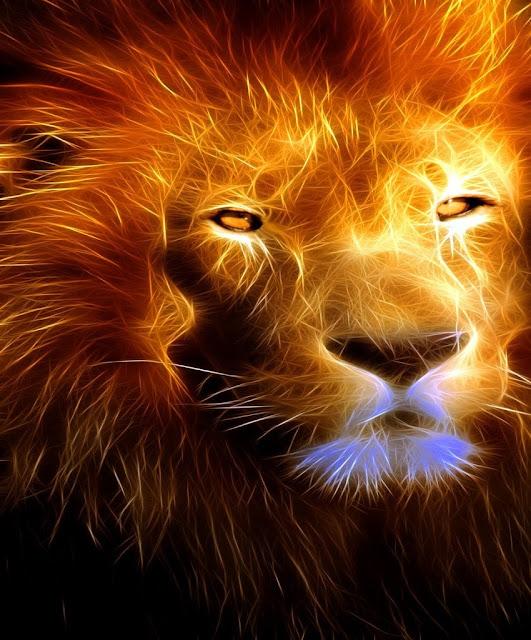 Leão dourado da tribo de judá