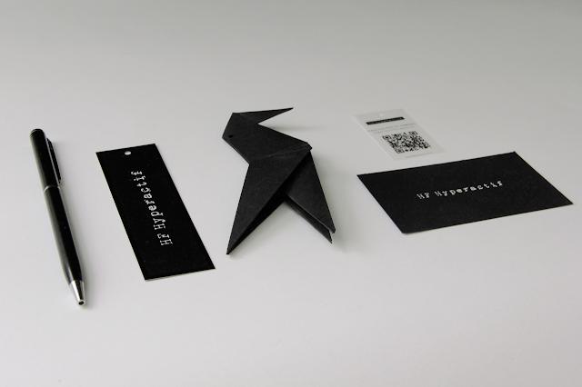 Origami hangtag
