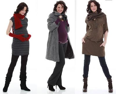 moda para embarazadas en general 3 mujeres