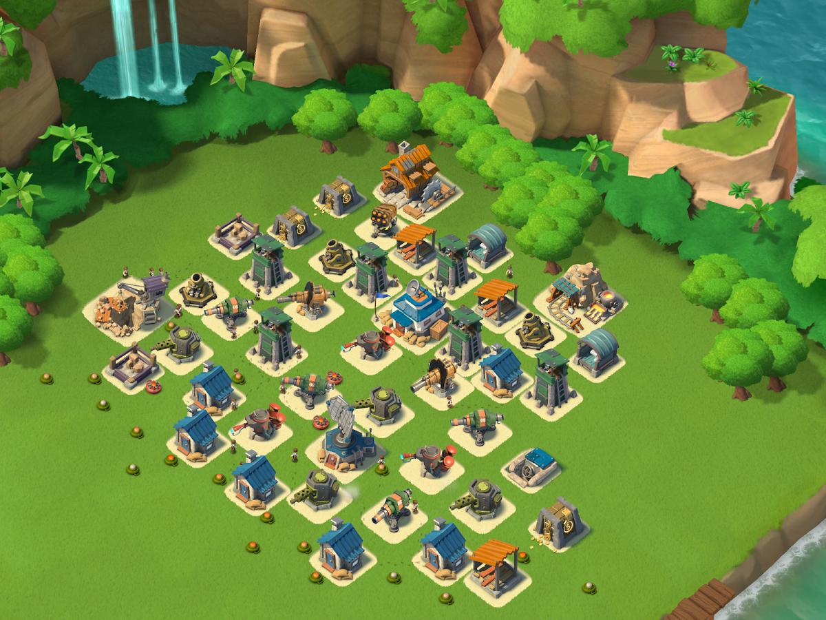Game Android Boom Beach - Tentara Perang Gratis
