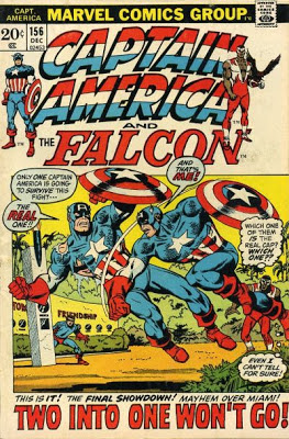 Captain America #156, Cap vs Captain America