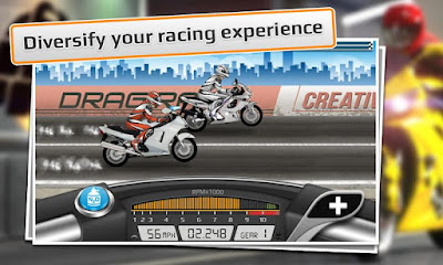Drag Racing google Play store