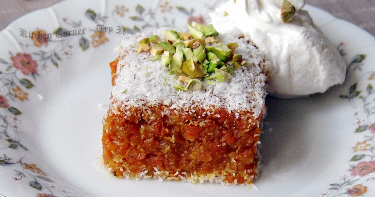 Carrot Walnut And Mango Cake