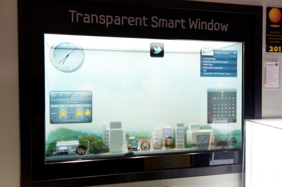 Samsung transparent smart window: Exciting Windows on the futuristic houses