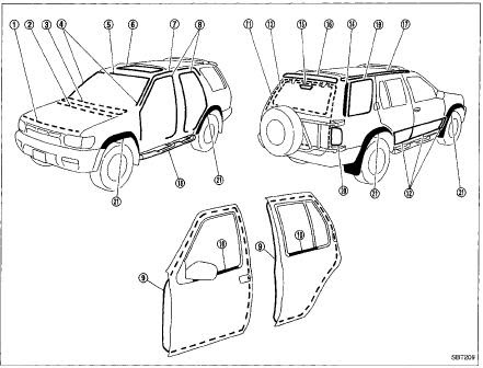 Nissan Pathfinder R50 1996 Repair on vq35de engine diagram