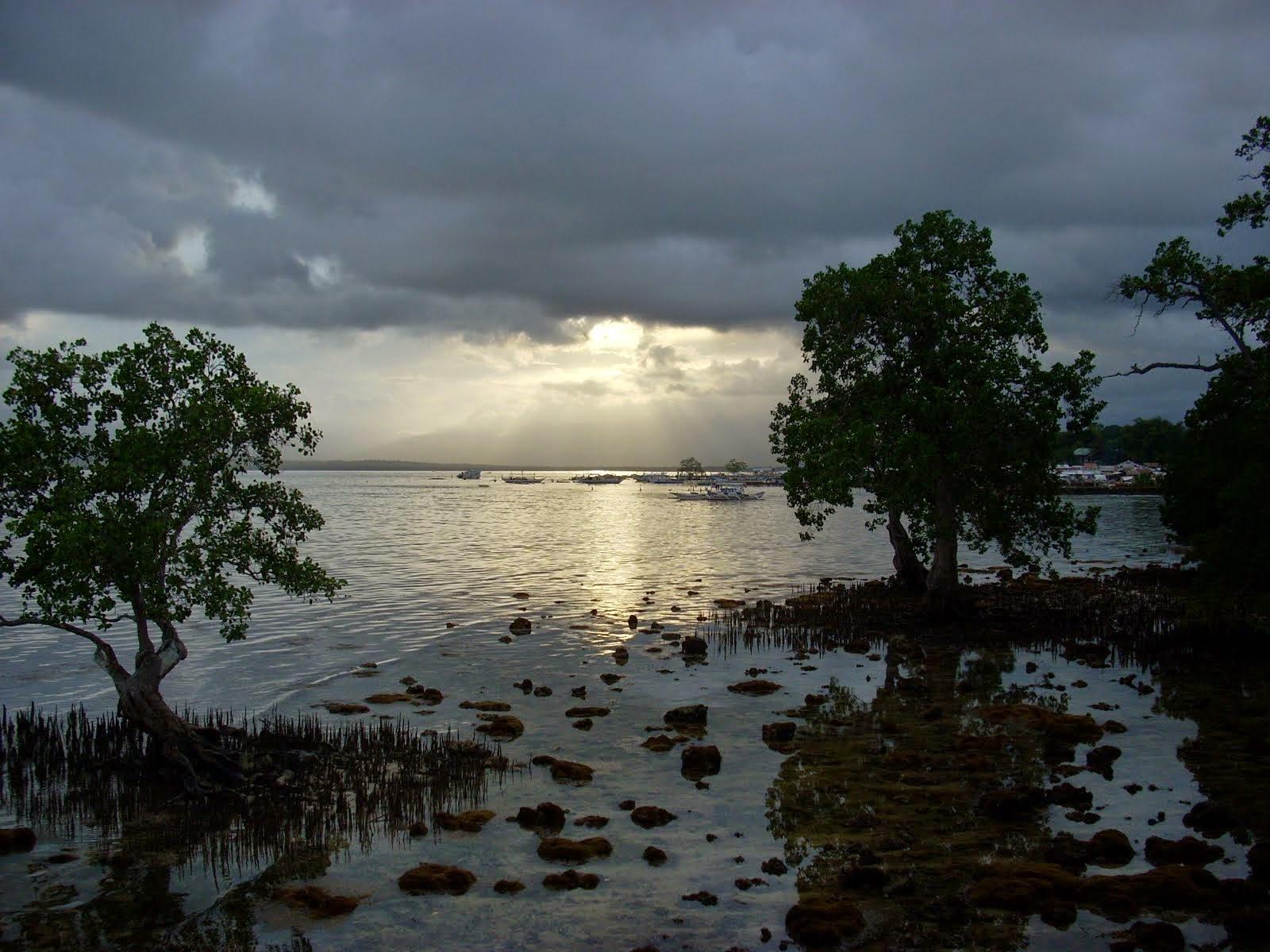 Palawan Philippines sunset