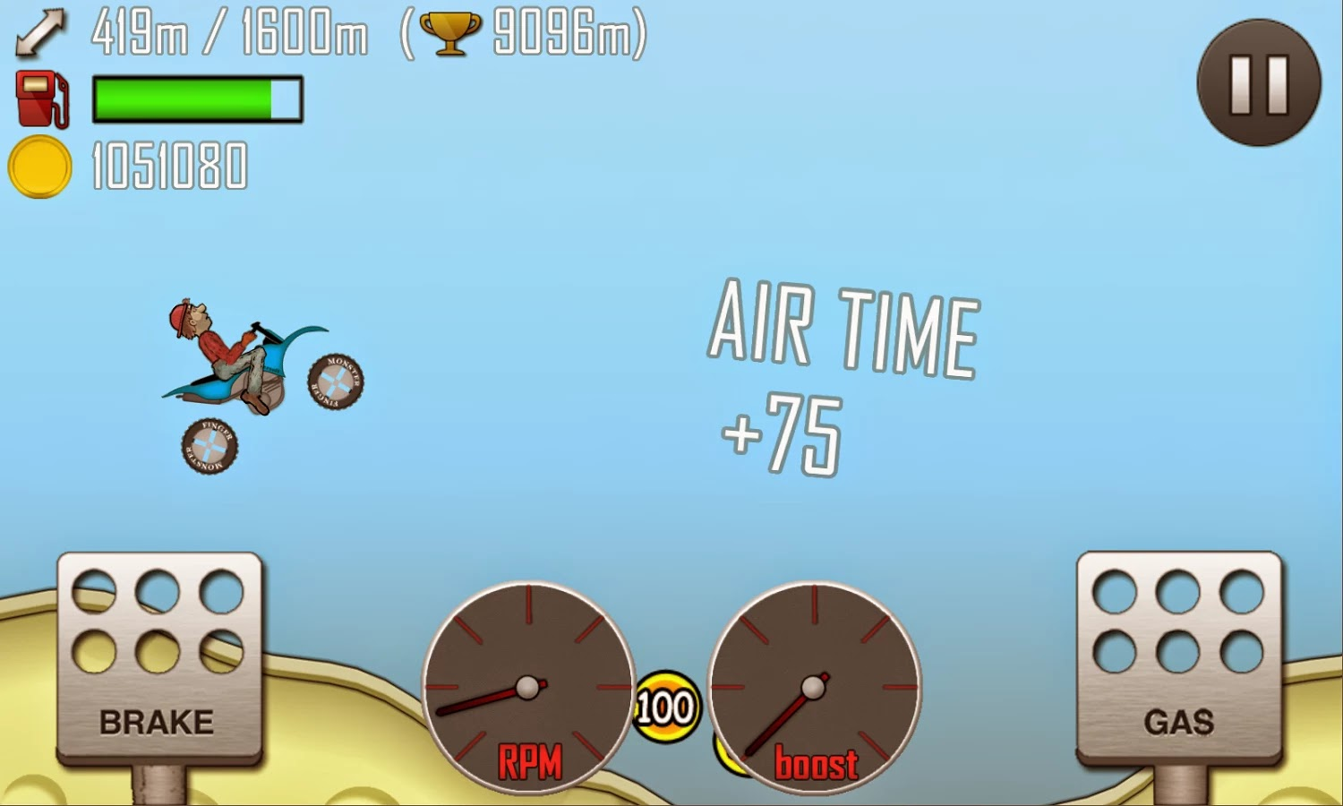 Hill Climb Racing Apk Game v1.16.0 [Unlimited Coins] Files