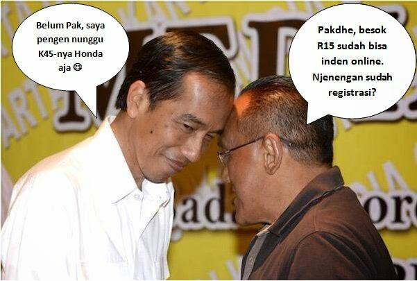 Foto Lucu Jokowi Ical