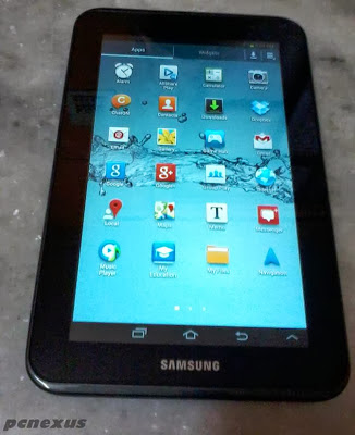 galaxy tab 2 gt p3110 screen shot
