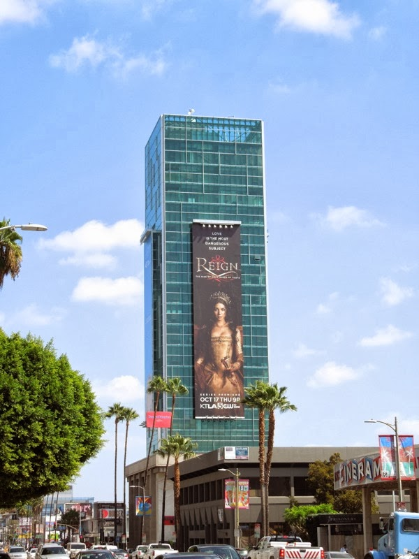 Giant Reign premiere billboard